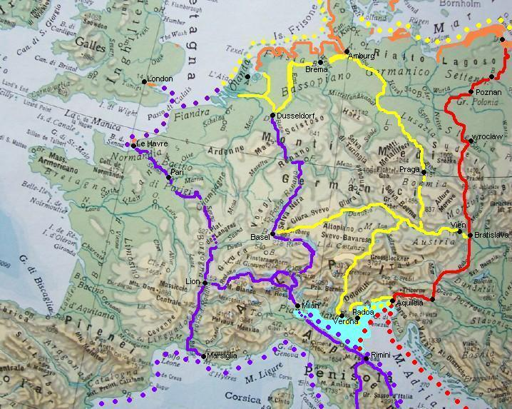Cartina Elba Fiume.Storia Lombarda I Primitivi