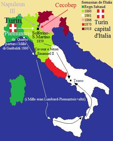 Cartina Dell Italia 1815.Storia Lombarda Da Napoleone A Oggi
